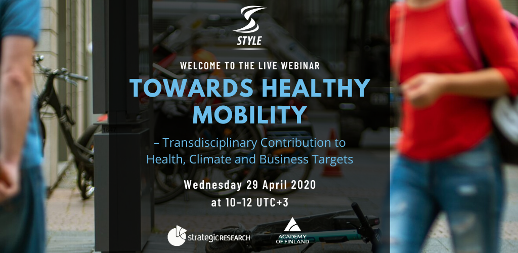 towards healthy mobility